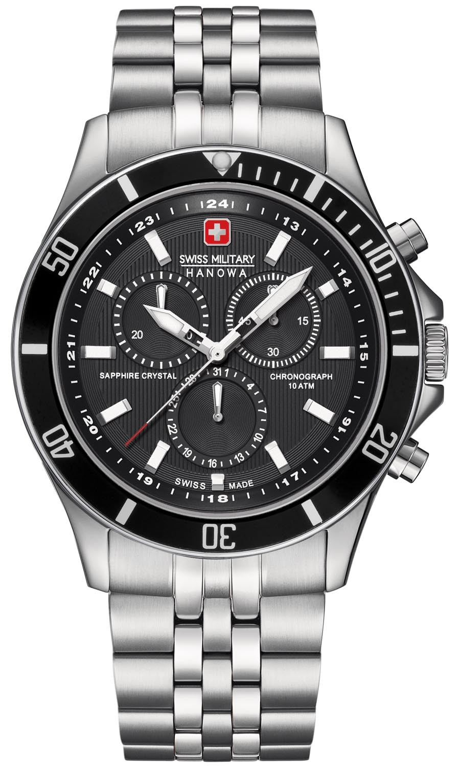Image of   Swiss Military Hanowa Chrono Ur 65183704007