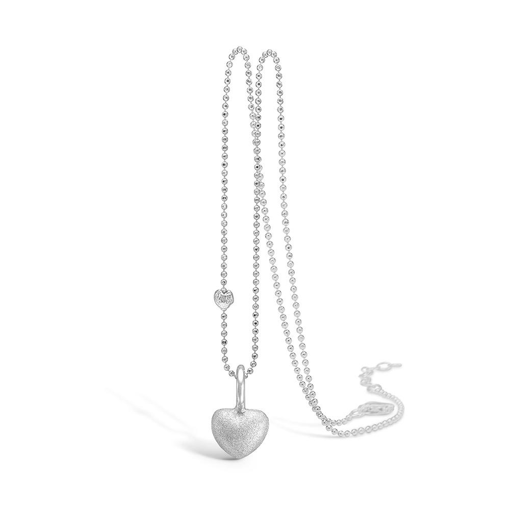 Blossom Sølv Halskæde med Hjertemotiv 21301002-45T