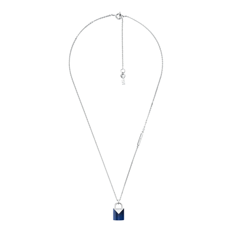 Color Sterling Sølv Halskæde fra Michael Kors med Safir