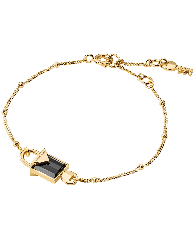 Michael Kors Color Armbånd i Forgyldt Sølv med Onyx