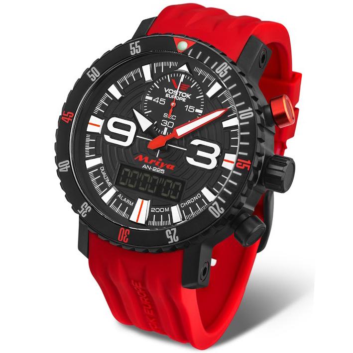 Vostok Europe Mriya Multifunctional Red 9516-5554250