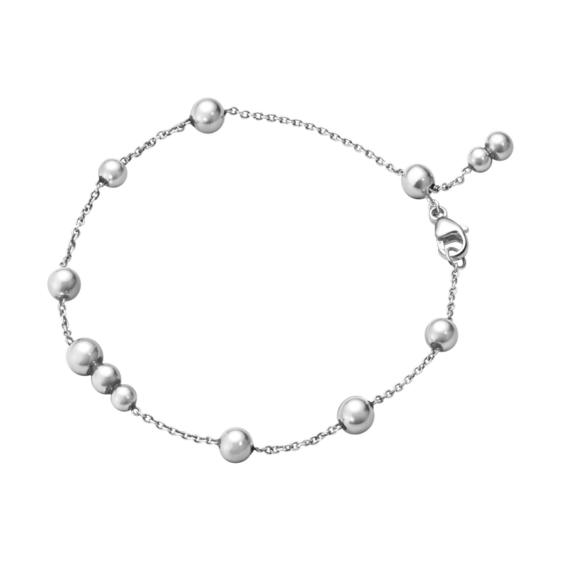 Image of   Georg Jensen Moonlight Grapes Armbånd i Sterling Sølv