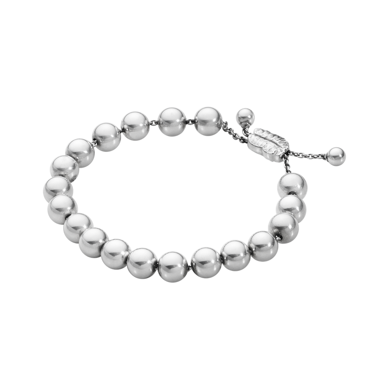 Image of   Georg Jensen Moonlight Grapes Onesize Sterling Sølv Armbånd