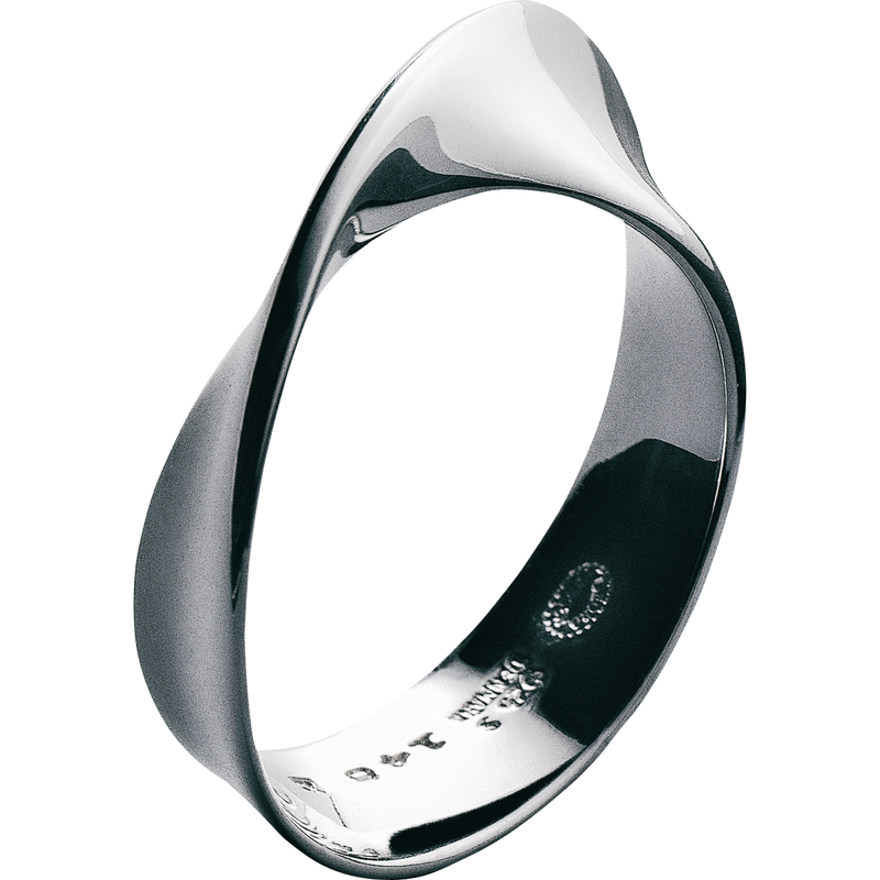 Image of   Georg Jensen Möbius Sterling Sølv Ring 3551340H