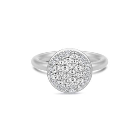 Julie Sandlau Multipave Ring i Sterling Sølv