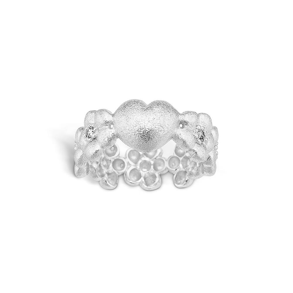 Image of   Blossom Sølv Ring 21623005
