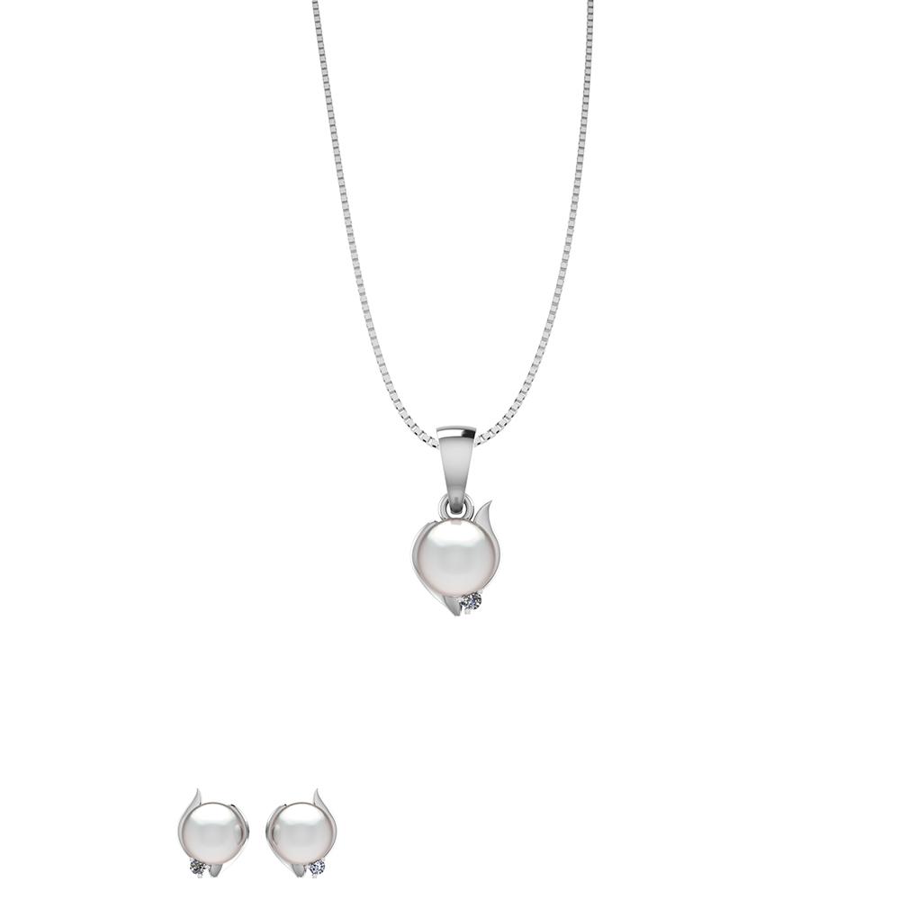 Image of   Sølv Smykkesæt fra Smykkekæden SÆT542