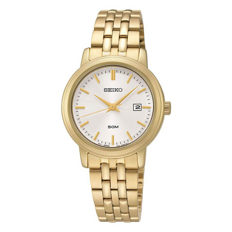 Image of   Seiko Ladies Golden Ur til Dame SUR824P1