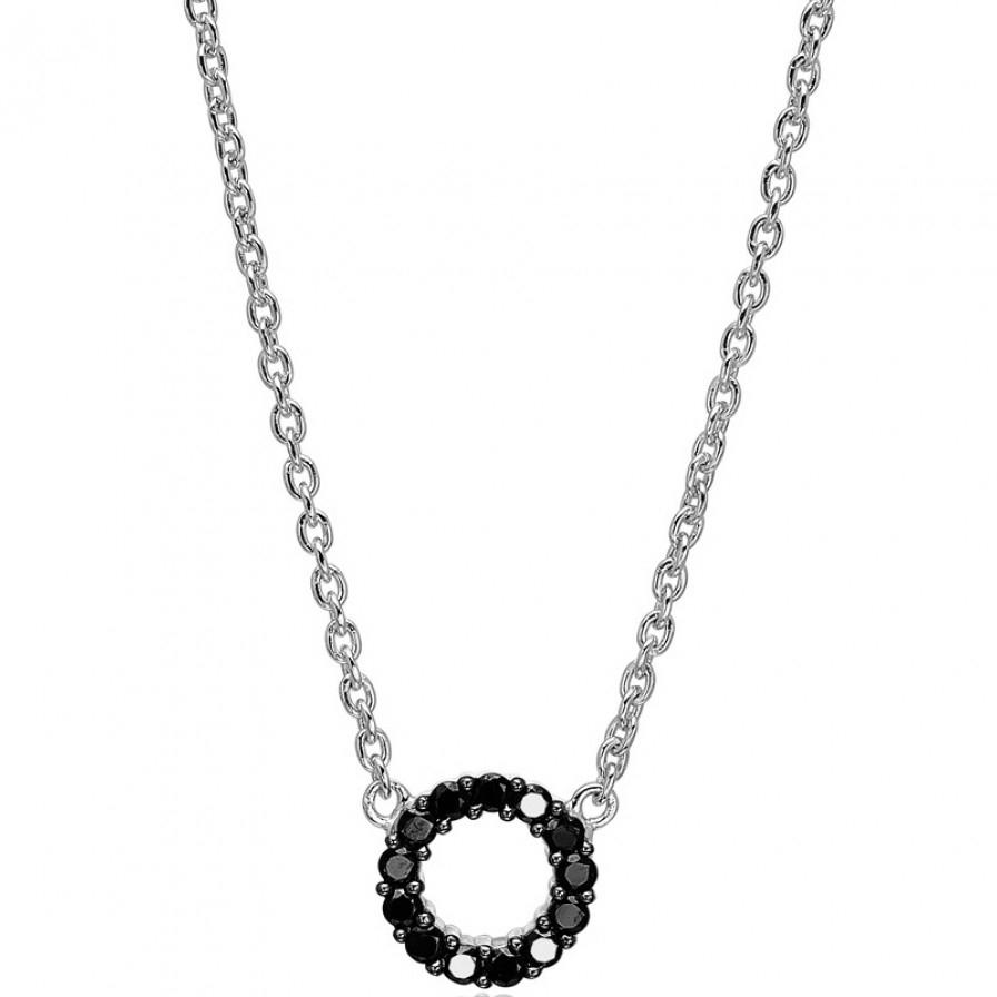 Biella Piccolo Sølv Halskæde fra Sif Jakobs SJ-C337-1-BK thumbnail