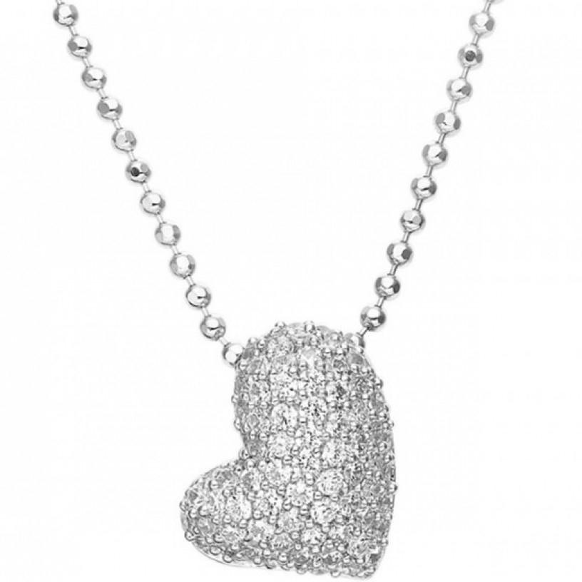 Image of   Sif Jakobs Giglio Amore sølv halskæde