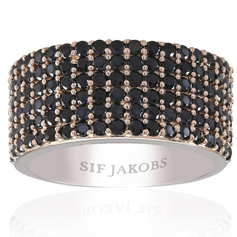 Image of   Sif Jakobs Corte Cinque forgyldt sølvring