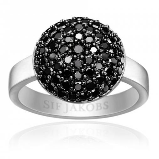 Image of   Milan Piccolo Sølv Ring SJ-R10771-BK