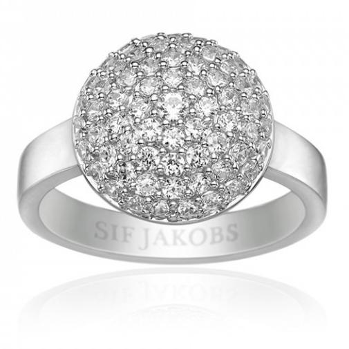 Image of   Sif Jakobs Milan Piccolo sølv ring