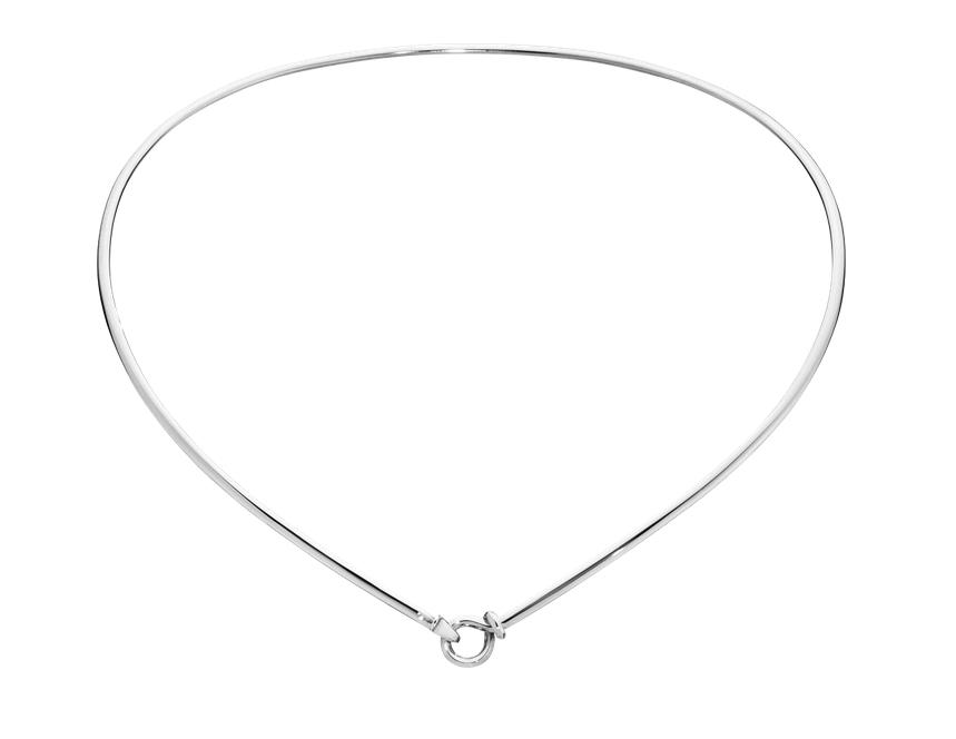 Image of   Georg Jensen Dew Drop halsring sølv