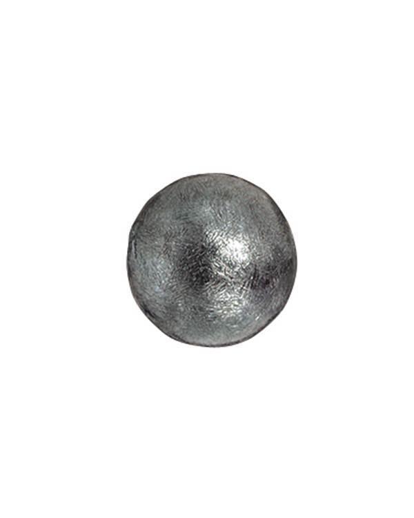 Image of   Aagaard Cannonball Smykkelås i Oxideret Sølv 380,25,2