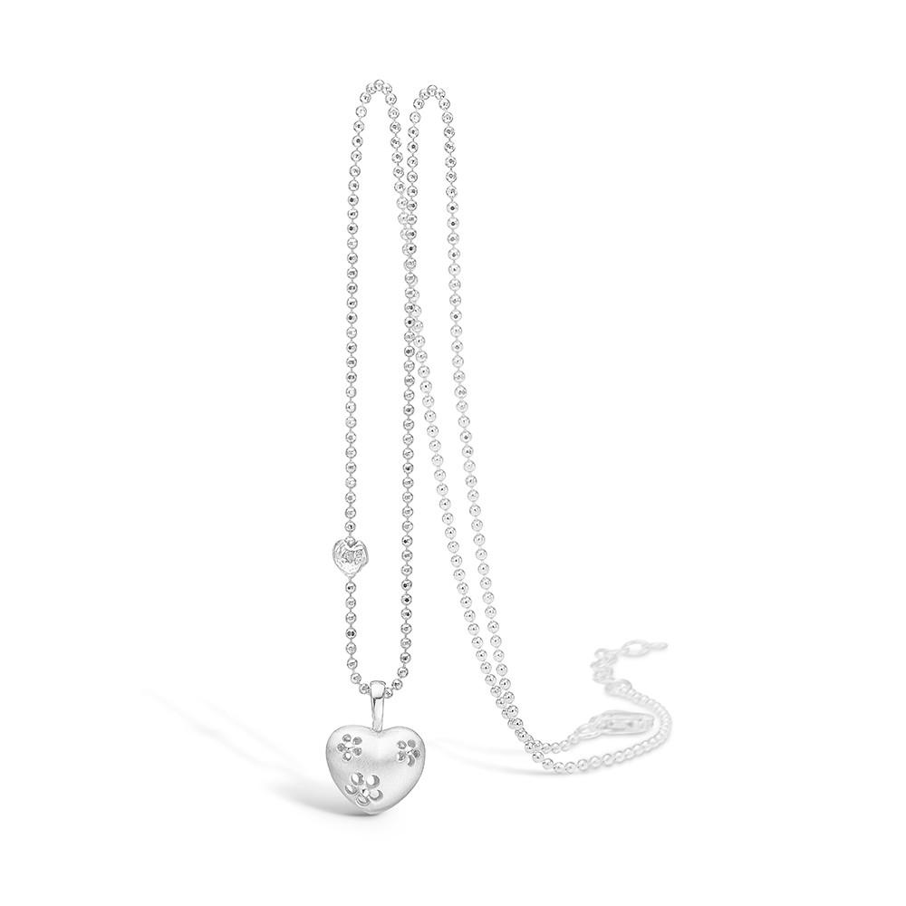 Blossom Halskæde i Sterling Sølv 21301000-45