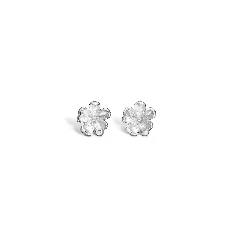 Blossom Øreringe i Sterling Sølv med Blomstmotiv 21911268