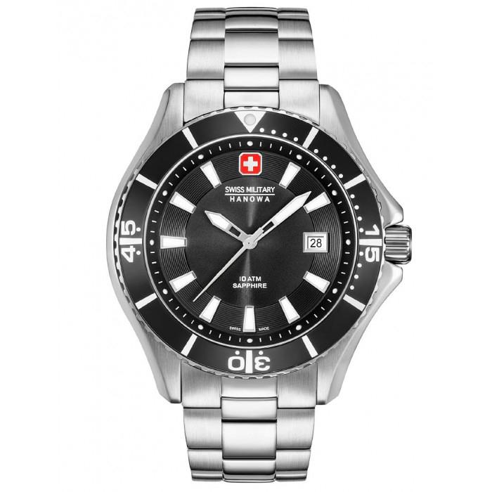 Image of   Swiss Military Hanowa Herreur Nautila 6529604007