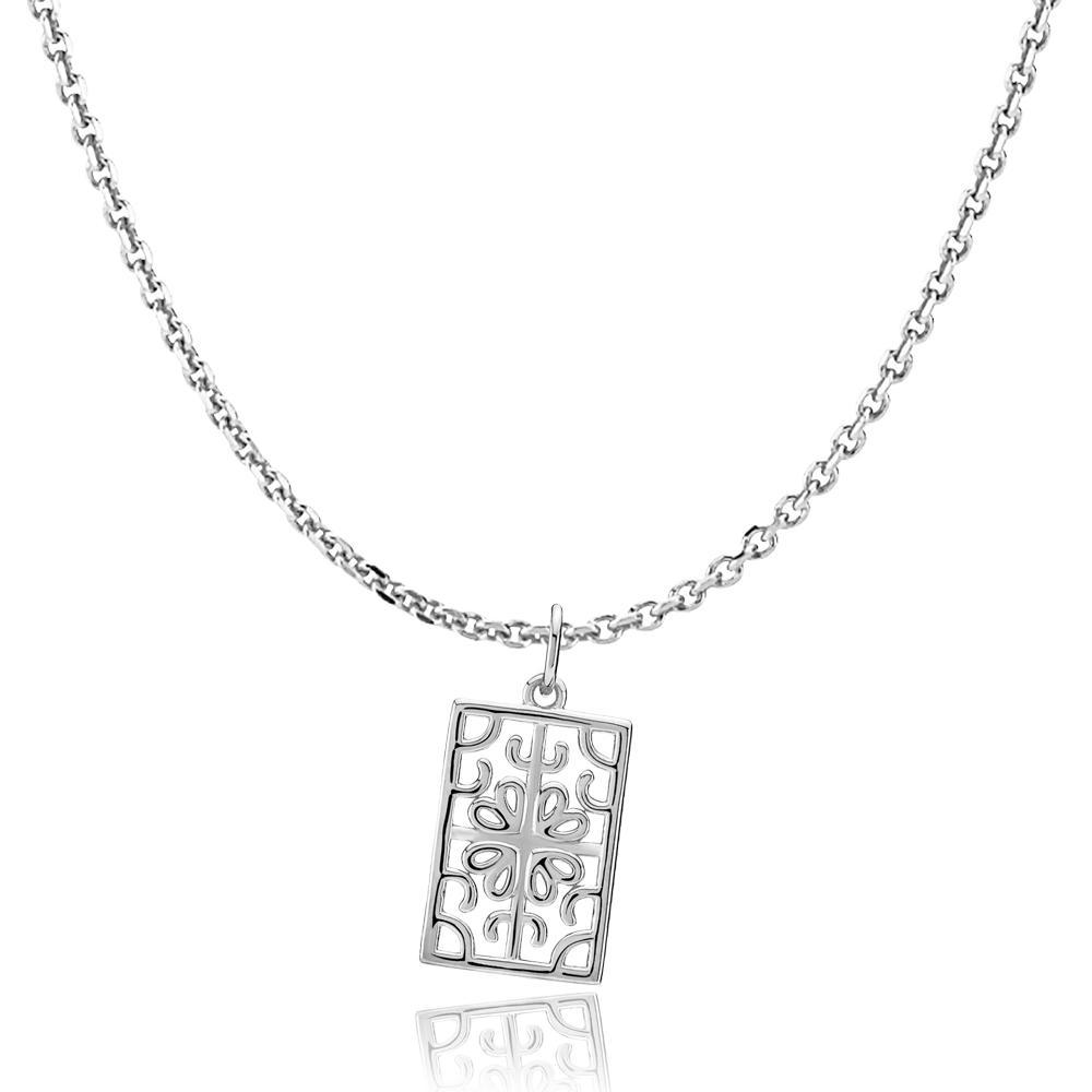 Image of   Balance Sterling Sølv Halskæde fra Sistie