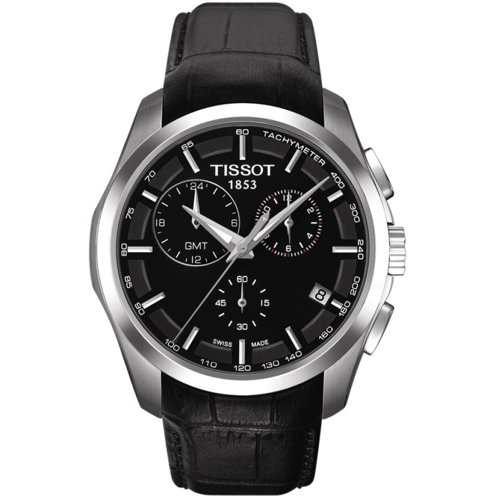 Image of   Coutourier GMT Ur til Herre Fra Tissot T0354391605100