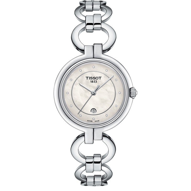 Image of   Tissot T-Lady Diamonds Ur til Dame T0942101111600