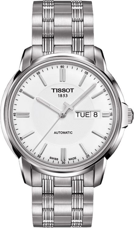 Image of   Tissot Herreur Automatics III T0654301103100