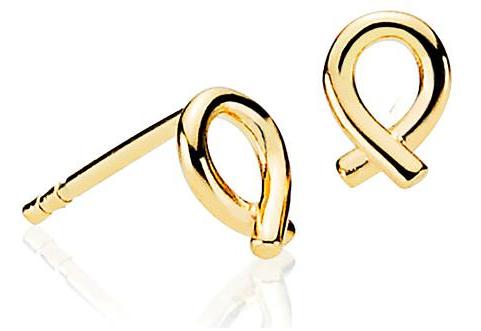 Everyday 8 Karat Guld Øreringe fra Izabel Camille