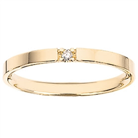 SCROUPLES GRACE 8 KT RING MED DIAMANT 7433,1