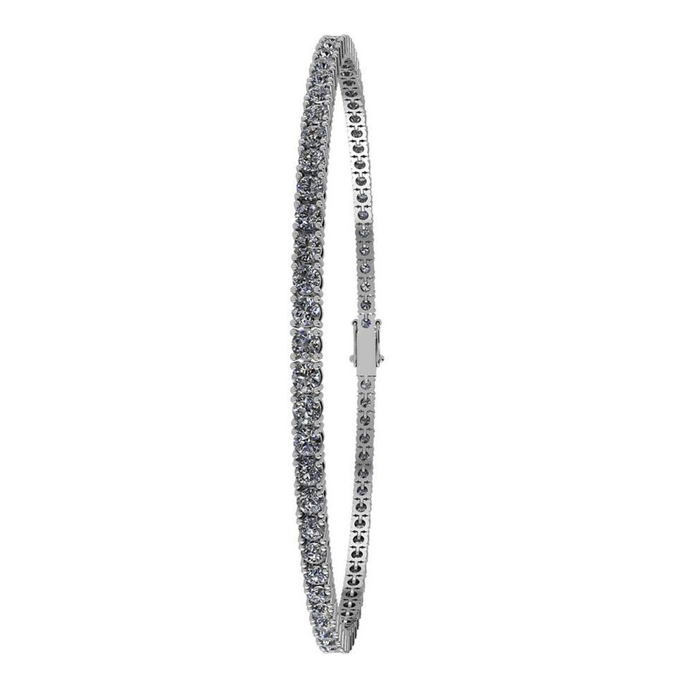 Image of   14 Karat Hvidguld Armbånd fra Henrik Ørsnes Design med Diamanter 1,26 Carat W/SI