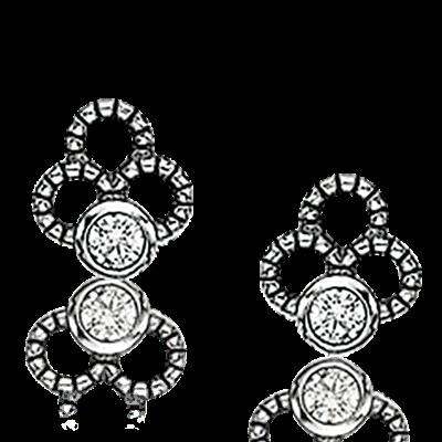 Wish Sterling Sølv Øreringe fra Scrouples W1192