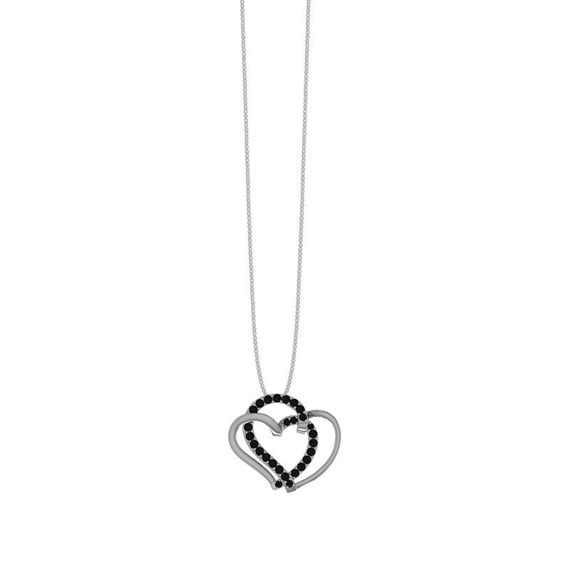 Smykkekæden Sølv Halskæde med Hjerte