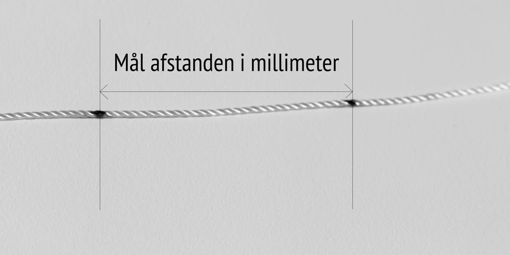 Mål afstanden